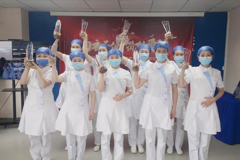 512护士节爱尔眼科为一线护士开展干眼症治疗,愿你眼中有星辰,心中有光亮