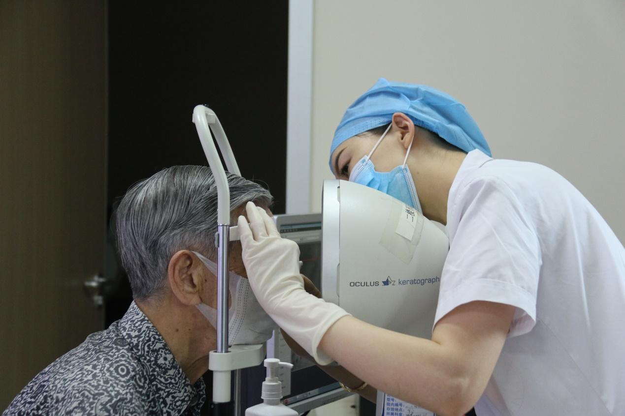 爱尔眼科干眼症治疗还94岁大爷健康视界