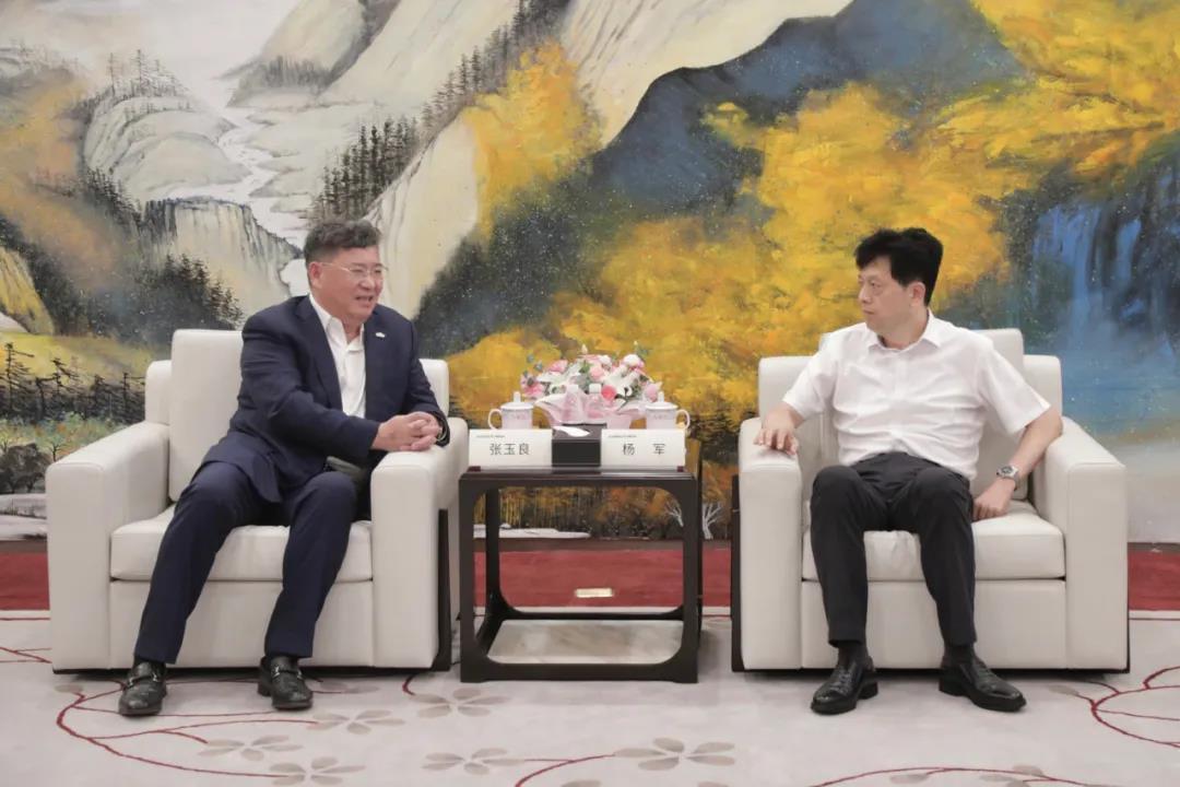 绿地张玉良分晤宿州淮北主要领导:加快项目合作、推进共赢发展!