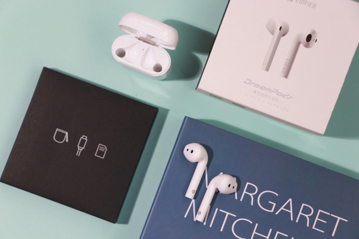 国庆节商务风礼物!全面革新的漫步者DreamPods蓝牙耳机