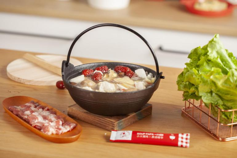 伽力森主食企业耗资7010万发起汤的革命 一汁成鲜原汤精华的诞生