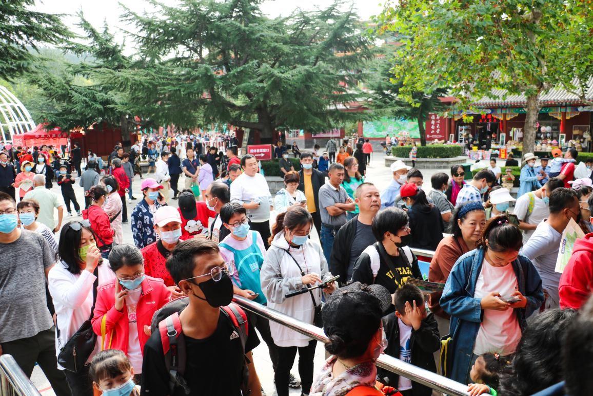 国庆假期四海宾朋涌入龙口南山,多彩体验让人乐不思蜀!