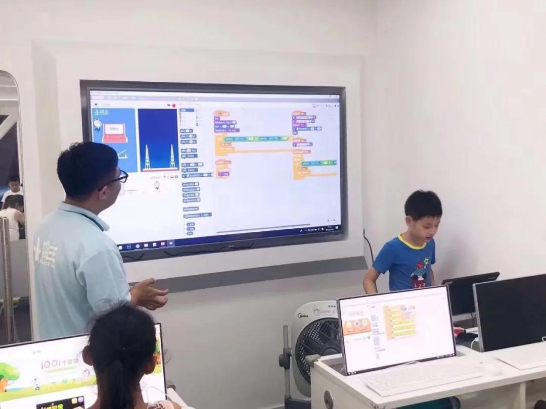 小码王:少儿学编程是一种思维方式,不是技术培训