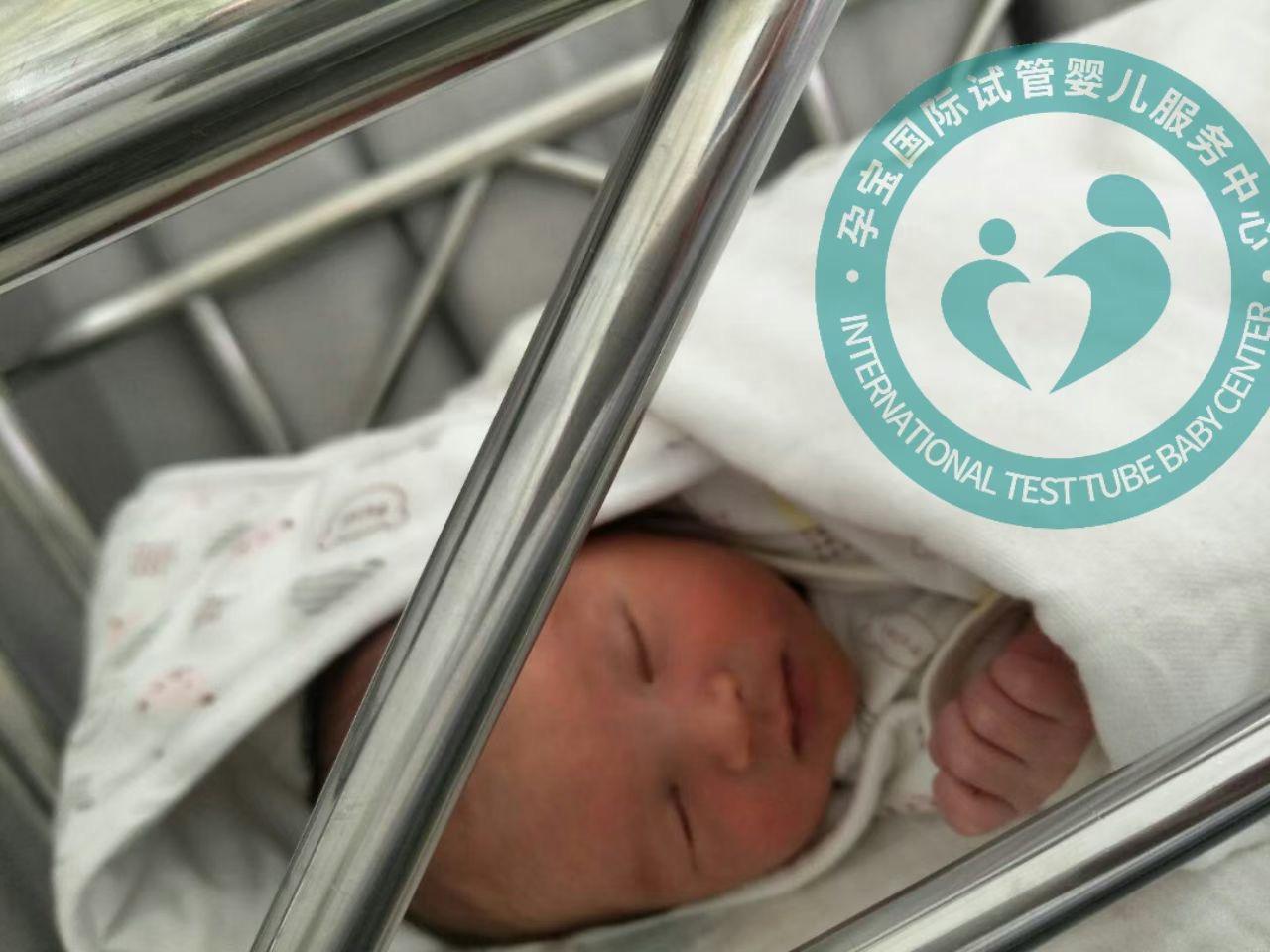 孕宝国际助48岁的她实现儿女双全